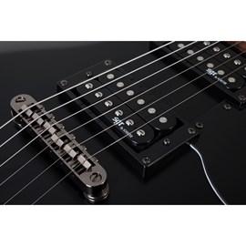 Guitarra S 1 SGR By Schecter - Preto (Midnight Satin Black) (MSB)
