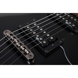 Guitarra S 1 SGR By Schecter - Preto (Midnight Satin Black) (MSB)