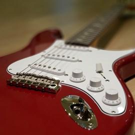 Guitarra Silver Sky Horizon Signature John Mayer Candy Apple Red - Vermelho (Red) (RE)