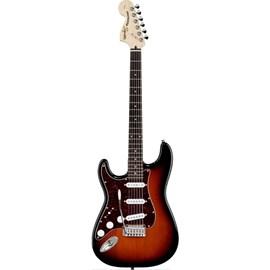 Guitarra Standard Stratocaster Canhota Squier By Fender - Sunburst (Antique Burst) (537)