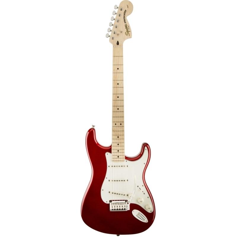 Guitarra Standard Stratocaster Squier By Fender - Vermelho (Candy Apple Red) (09)