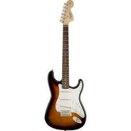 Guitarra Stratocaster Affinity Escala em Laurel - Sunburst Squier By Fender - Sunburst (Brown Sunburst) (532)