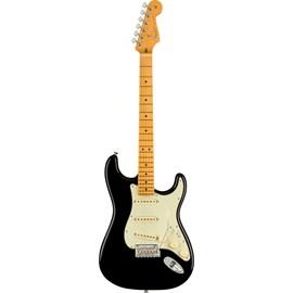 Guitarra Stratocaster American Professional II Escala em Maple - Black Fender - Preto (Black) (706)