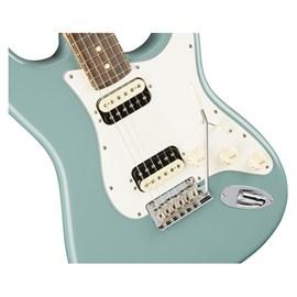 Guitarra Stratocaster American Professional Shawbucker HH RW com Case Elite Fender - Blue (Sonic Gray)