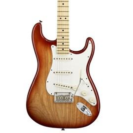 Guitarra Stratocaster American Standard  Ash 0113002747 Fender - Sunburst (Sienna Sunburst) (47)