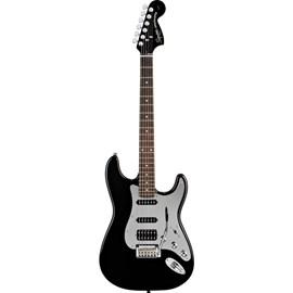 Guitarra Stratocaster Black and Chrome HSS Squier By Fender
