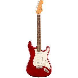 Guitarra Stratocaster Classic Vibe 60's Escala em Laurel - Candy Apple Red Squier By Fender - Vermel
