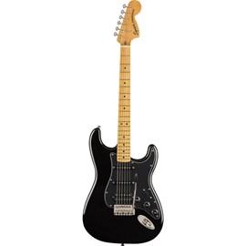 Guitarra Stratocaster Classic Vibes 70's HSS Escala em Maple Squier By Fender - Preto (Black) (06)