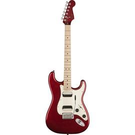 Guitarra Stratocaster Contemporary HH (Humbucker) Escala em Maple Squier By Fender - Vermelho (Dark Metallic Red) (525)