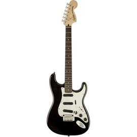 Guitarra Stratocaster Deluxe Hot Rails Black 0300510506 Squier By Fender - Preto (Black) (506)