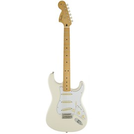 Guitarra Stratocaster Jimi Hendrix com Deluxe Gig Bag Séries Assinaturas Fender - Branco (Olimpic Wh