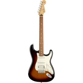 Guitarra Stratocaster Player HSS Pau Ferro Fender - Sunburst (3-color Sunburst) (500)
