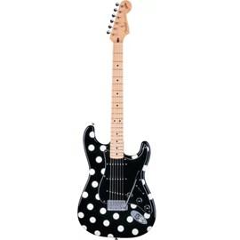Guitarra Stratocaster Signature Series Buddy Guy Fender - Preto (Black) (BLK)