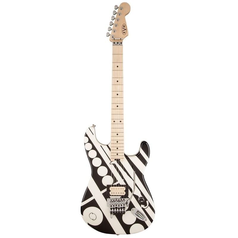 Guitarra Striped Séries Circles EVH