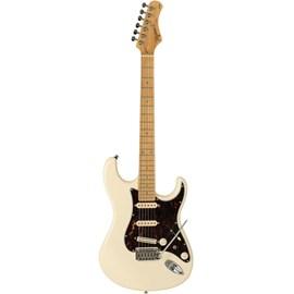 Guitarra T 805 Escala Rosewood White Vintage Escudo Tortoise Tagima - Branco (Vintage White) (VWH)