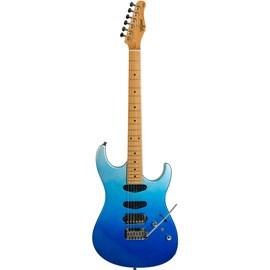 Guitarra Tagima Stella H3 de Escala Clara Tagima - Azul (Degradê Oceano Metálico) (DOM)