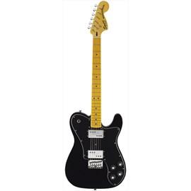 Guitarra Vintage Modified Tele Deluxe Squier By Fender - Preto (Black) (506)