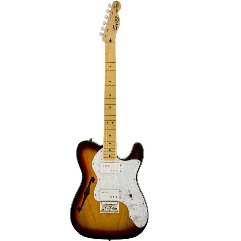 Guitarra Vintage Modified Tele Thinline 72s Squier By Fender - Sunburst (3-color Sunburst) (500)
