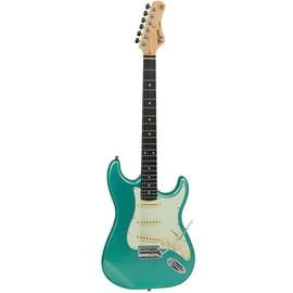 Guitarra Woodstock Series TG-500 de Escala Clara Escudo Mint Green Tagima - Verde (Metallic Surf Green) (MSG)