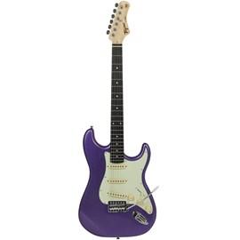 Guitarra Woodstock Series Tg-500 de Escala Escura Escudo Mint Green Tagima - Metallic Purple (MPP)