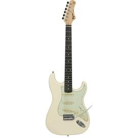 Guitarra Woodstock Series TW-500 Escala Escura Escudo Mint Green Tagima - Branco (Olympic White) (05)