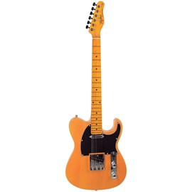 Guitarra Woostock TW 55 BS Butterscotch Tagima - Amarelo (Butterscoth Blonde) (BSC)
