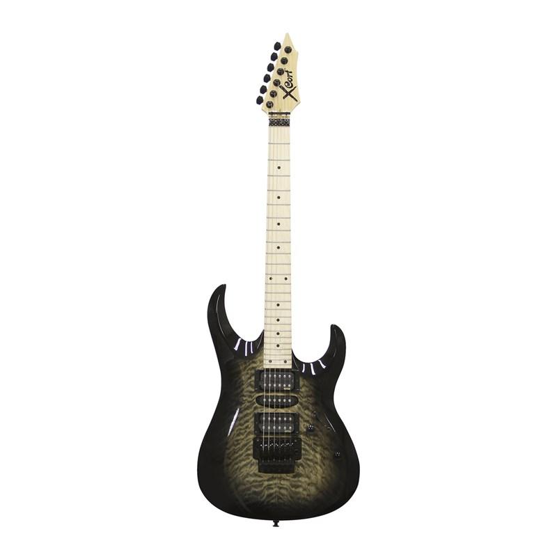 Guitarra X11QM GB Cort