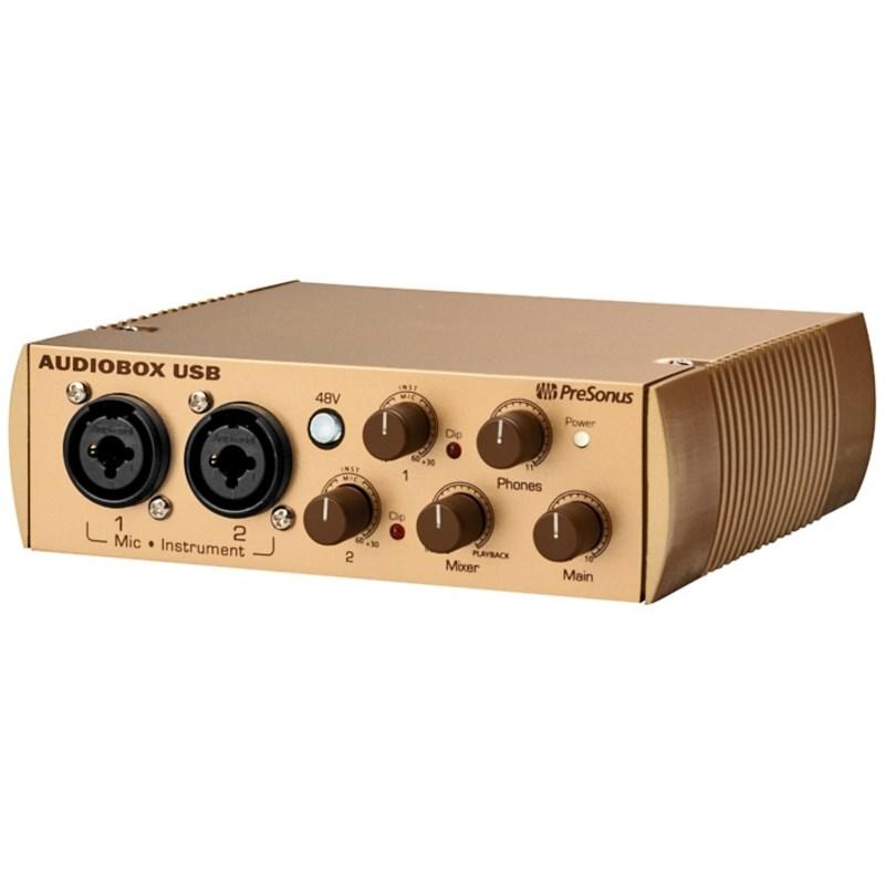 Interface Audiobox Usb Gold - Edição Limitada Presonus