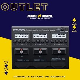Interface de Audio para Guitarra GCE-3 Zoom