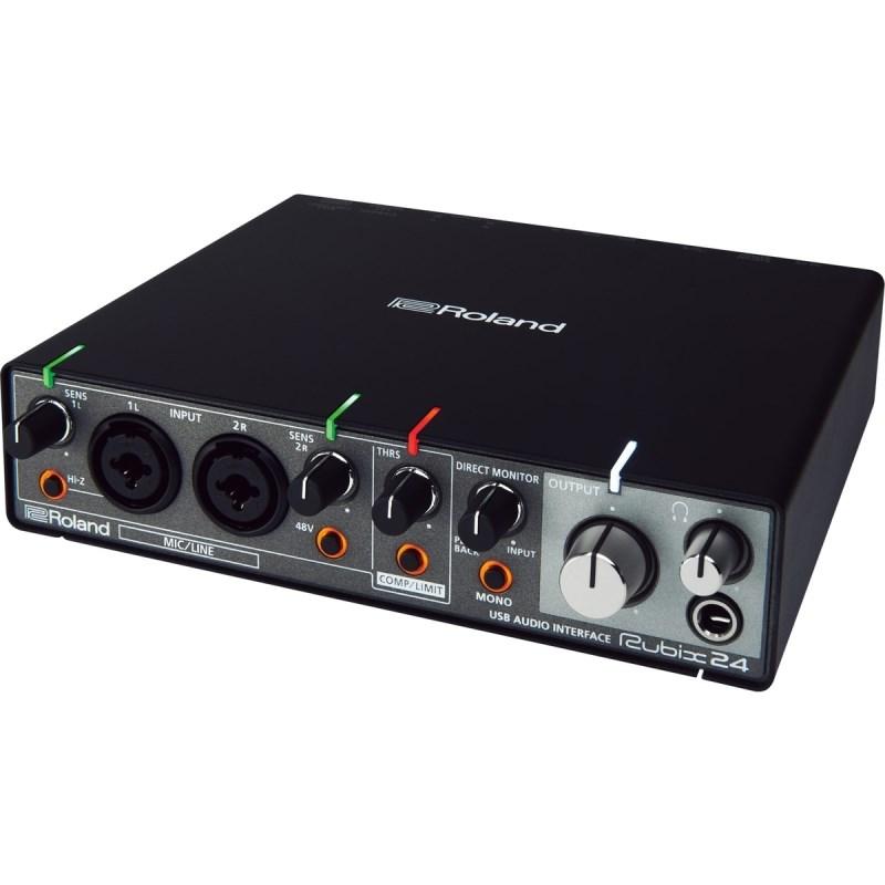 Interface de Áudio Rubix 24 Roland
