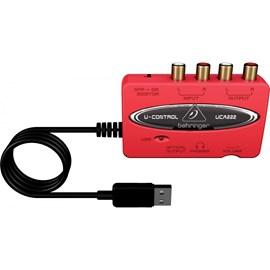 Interface De Áudio UCA222   003445 Behringer