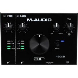 Interface De Áudio USB Com 2 Canais Com Midi IN/OUT AIR 192 6 M-Audio