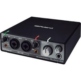 Interface para Gravação de Áudio Rubix 22 Roland