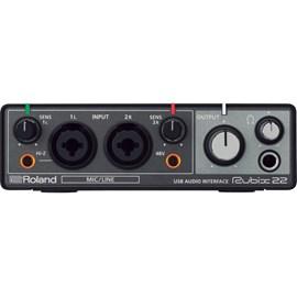 Interface para Gravação de Áudio Rubix22 Roland