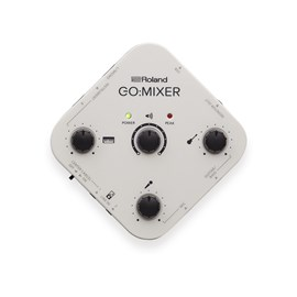 Interface Roland Go Mixer para Smartphones