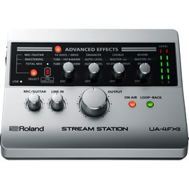 Interface Roland UA 4FX2 Stream Station USB para Streaming Roland