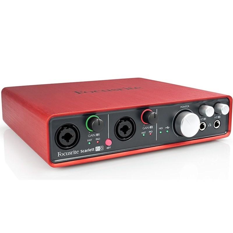 Interface Scarlet 6i6 2 Geração Focusrite