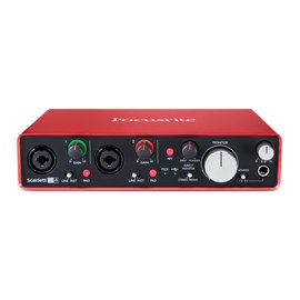 Interface Scarlett 2i4 2ª Geracao Focusrite