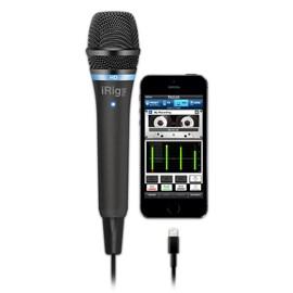 Irig Mic Hd (Black) - Microfone Condensador Digital IK Multimedia