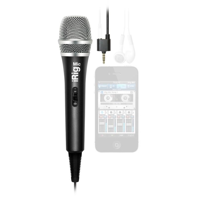 Irig Mic - Microfone para Smartphone & Tablets Ik Multimedia