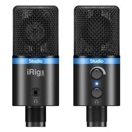Irig Mic Studio (Black) - Microfone Condensador Cardióide Usb IK Multimedia