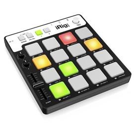 Irig Pads - Controlador Midi Usb para Grooves IK Multimedia