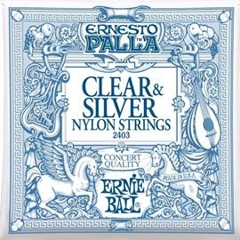 IZ-12871 Encordoamento para Violão Ernesto Palla Clássico Nylon 2403 Tensão Média Ernie Ball