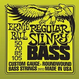 IZ-12887 Encordoamento para Contrabaixo Regular Slinky 2832 - 0.050-0.105 Ernie Ball