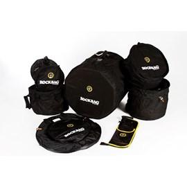Kit de Bags para Bateria 7 Peças Student Line RB22902B Rockbag