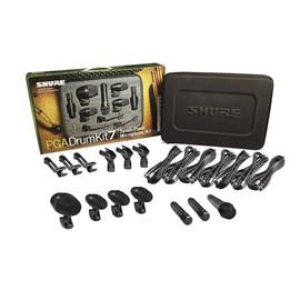 Kit de Microfones para Bateria  Pgadrumkit7 Shure