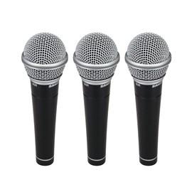 Kit de Microfones R 21 (3 Unidades) Samson
