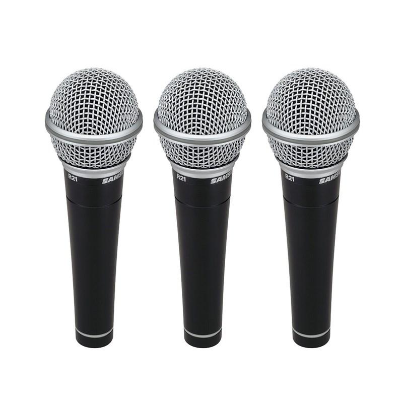Kit de Microfones R-21 (C/ 3 Unid) Samson