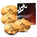 Kit de Prato Zbt Five Zbtp390 a 14hh+16crash+18crash+20ride