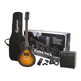 Kit Guitarra Les Paul Special Player Pack Black Vintage Sunb Epiphone - Sunburst (Vintage Sunburst)